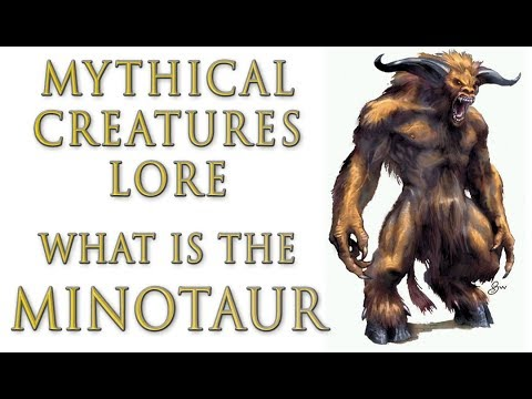 Mythical Creatures Lore - What Is The Minotaur