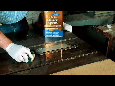 How to protect cast iron tool surfuces