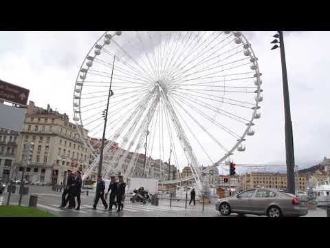 Marseille, France, walking tour