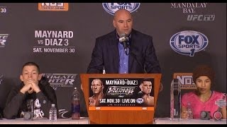 TUF 18: Post-Fight Press Conference Highlights