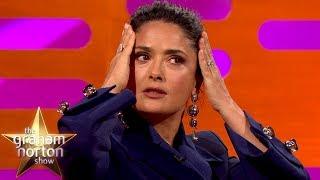 Salma Hayek Had a Mariachi Band for her 50th Birthday | The Graham Norton Show