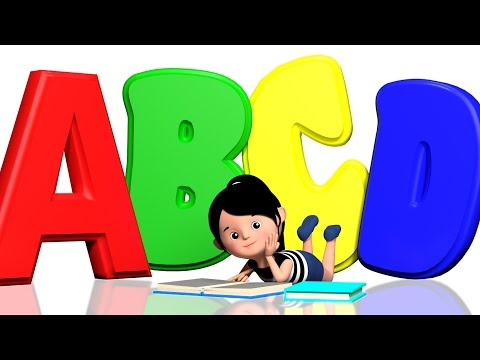 ABCD Song For Children | Alphabets Song For Children | 3D Nursery Rhymes | Kids Tv Videos