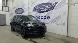 2019 Ford Explorer XLT Appearance 202A W/ 3.5L, Leather Overview | Boundary Ford