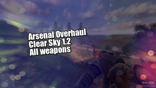 Arsenal Overhaul - Clear Sky 1.2 - All weapons showcase