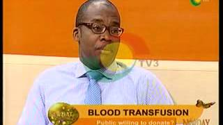 New day - Discussing The Importance of  Blood Transfusion - 18/9/2014