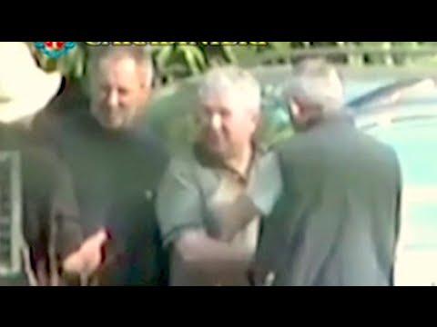 Secret 'Ndrangheta Mafia rituals captured on video