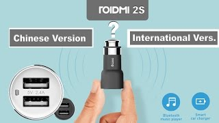 Обзор и отличие Roidmi 2S Chinese Version от International Version
