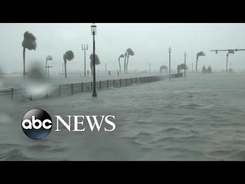 Florida Streets Flooded After Hurricane Matthew Hits