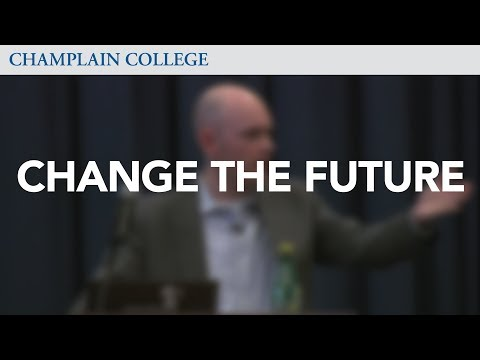 Brian David Johnson: How to Change the Future! | Champlain College