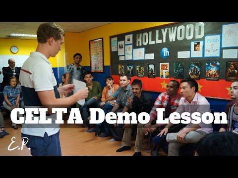 Teaching English to Adults (CELTA training)
