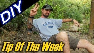 "DIY Paracord Net / Hammock Chair - ""Tip Of The Week"" E24"