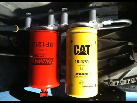 Ram 2500 59 Cummins Diesel 2 Micron Fuel Filter Kit Install - YouTube