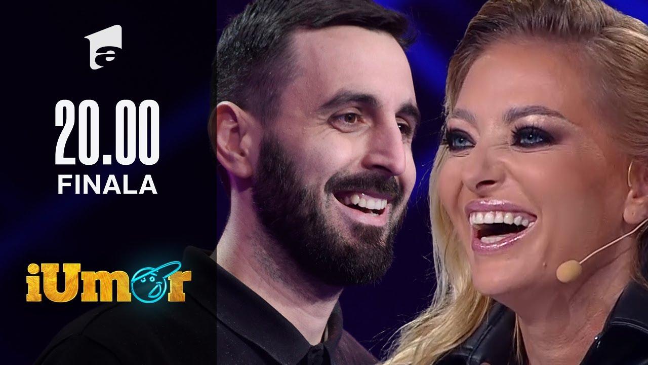 Finala iUmor 2020   Petre Dănuț Irinel a avut emoții mari în finală! Ce gest neașteptat a făcut