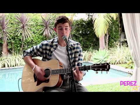"""Shawn Mendes - """"The Weight"""" (Exclusive Perez Hilton Acoustic)"""