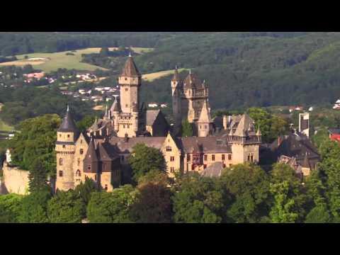 Hessen von oben: Schlösser und Burgen