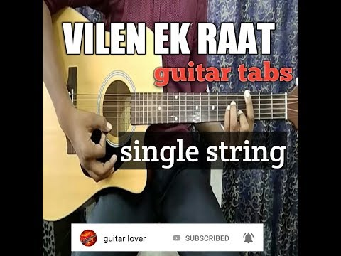 Vilen lek raat l single string l guitar tabs