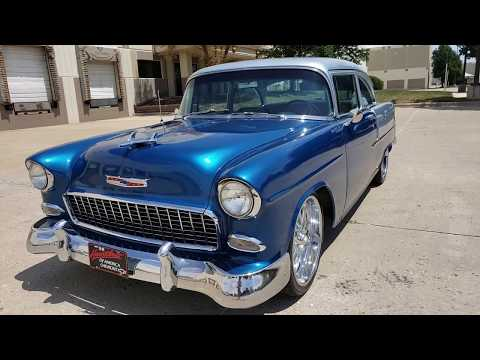 1955 Chevy Bel Air For Sale Test Drive