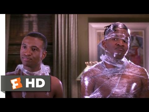 Booty Call (1997) - Plastic Wrap Scene (7/10) | Movieclips