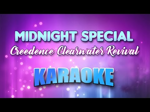 Creedence Clearwater Revival - Midnight Special (Karaoke version with Lyrics)