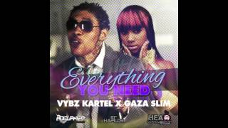 Vybz Kartel feat. Gaza Slim - Everything You Need (Explicit) By RvssianHCR NOV. 2012