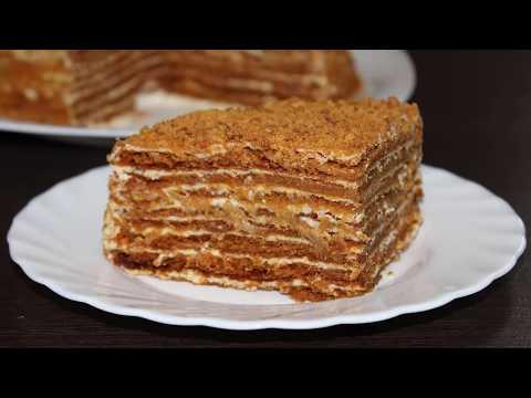 Торт медовик по классическому рецепту. Кулинария. Рецепты. Понятно о вкусном.