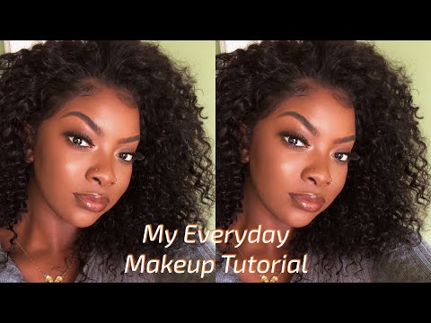 MY EVERYDAY BROWN SKIN MAKEUP TUTORIAL