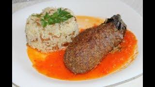 Köfteli patlican kebabi / muhteşem bi lezzet