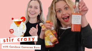 Candace Cameron Bure's Daughter Natasha Bure Trolls Her for Drinking a Salad 😂| Stir Crazy | Cosmo