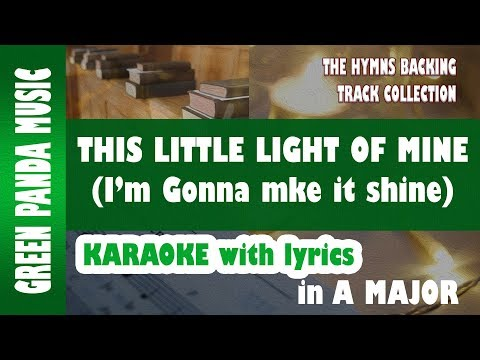 This little light of mine - Karaoke/Backing Track from The Hymns Backing Track Collection