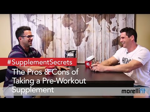Pros & Cons of Pre-Workout Supplements
