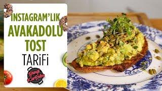 Avokado Tost Tarifi🥑   Instagram'a Özel 📸