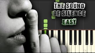 Video The Sound Of Silence - EASY - [Piano Tutorial] (Synthesia) (Download MIDI + PDF Sheets) download MP3, 3GP, MP4, WEBM, AVI, FLV September 2018