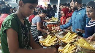 Special Tasty Aloo Fingers or Nadaa Kabab in Wardha Maharashtra   Only 20 Rs   Street Food Wardha
