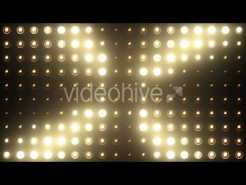 Vj Wall Lights Flashing Lights Bulb Stage Motion Graphic