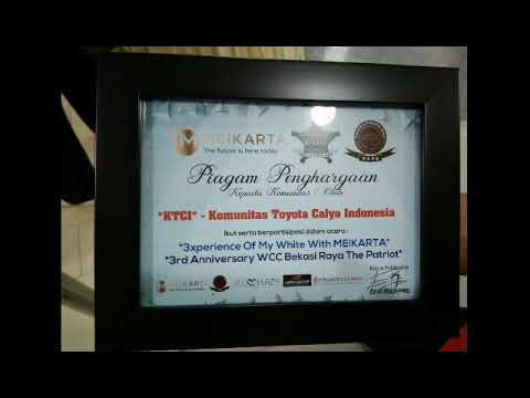 "KTCI Bekray Participation WCC "" white Car Community"" Bekasi Raya di Blue Plaza"