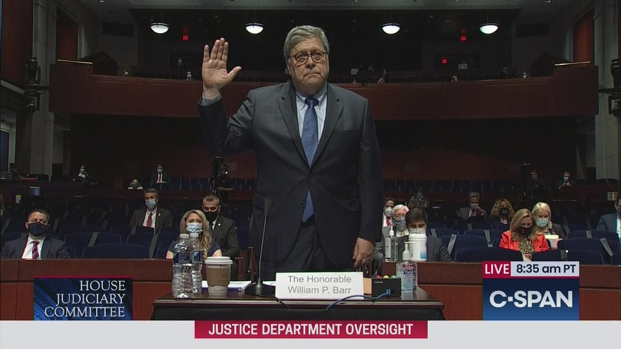 Attorney General William Barr testifies before House Judiciary Committee