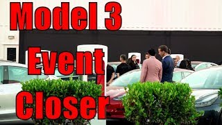 Download Video Model 3 Delivery Event Closer Look at the 30 cars Ground level MP3 3GP MP4