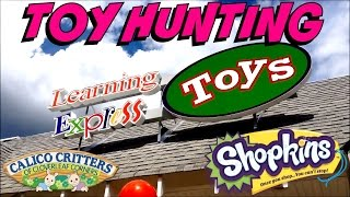 Toy Hunting - Fun At Learning Express Toys! Shopkins Beanie Boos Calico Critters