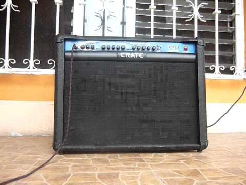 testing crate xt120r guitar amp youtube rh youtube com