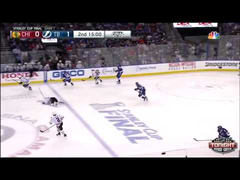 Tampa Bay Lightning vs Chicago Blackhawks SCF Game 1 Highlights