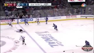 Tampa Bay Lightning vs Chicago Blackhawks SCF Game 1 Highlights
