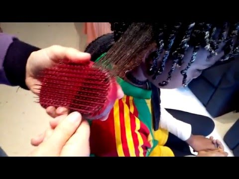 Tangle Teezer Elite Think & Curly Afro Hair