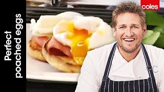 how to make perfect poached eggs with curtis stone