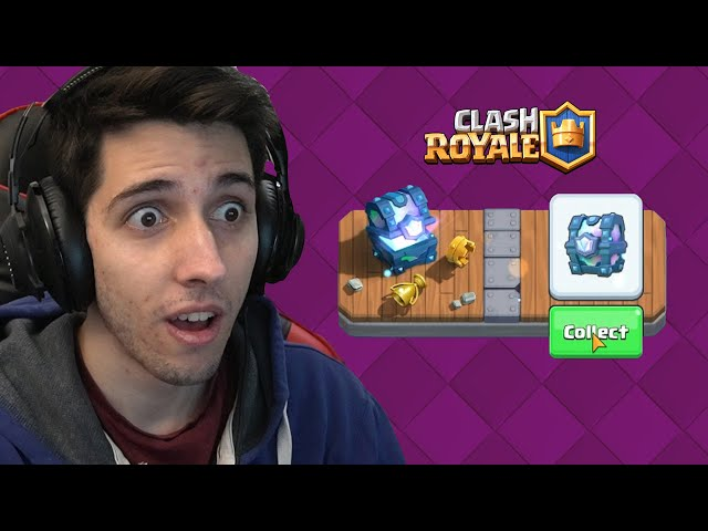 OTVARAM 2 LEGENDARY CHESTA - Clash Royale