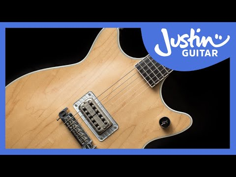 Justin's Gretsch Malcolm Young Model Guitar • AC/DC • Best Rhythm Guitarist Ever!