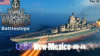 World of Warships - Battleships - American Tier VI - USS New Mexico