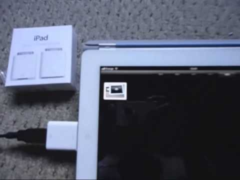 Nikon and iPad 2 with Camera Connection Kit