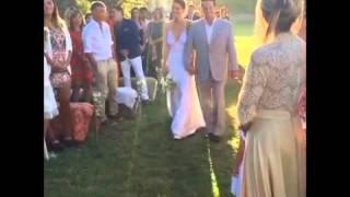 La increíble boda campestre de Luli Fernández y Cristian Cúneo Libarona