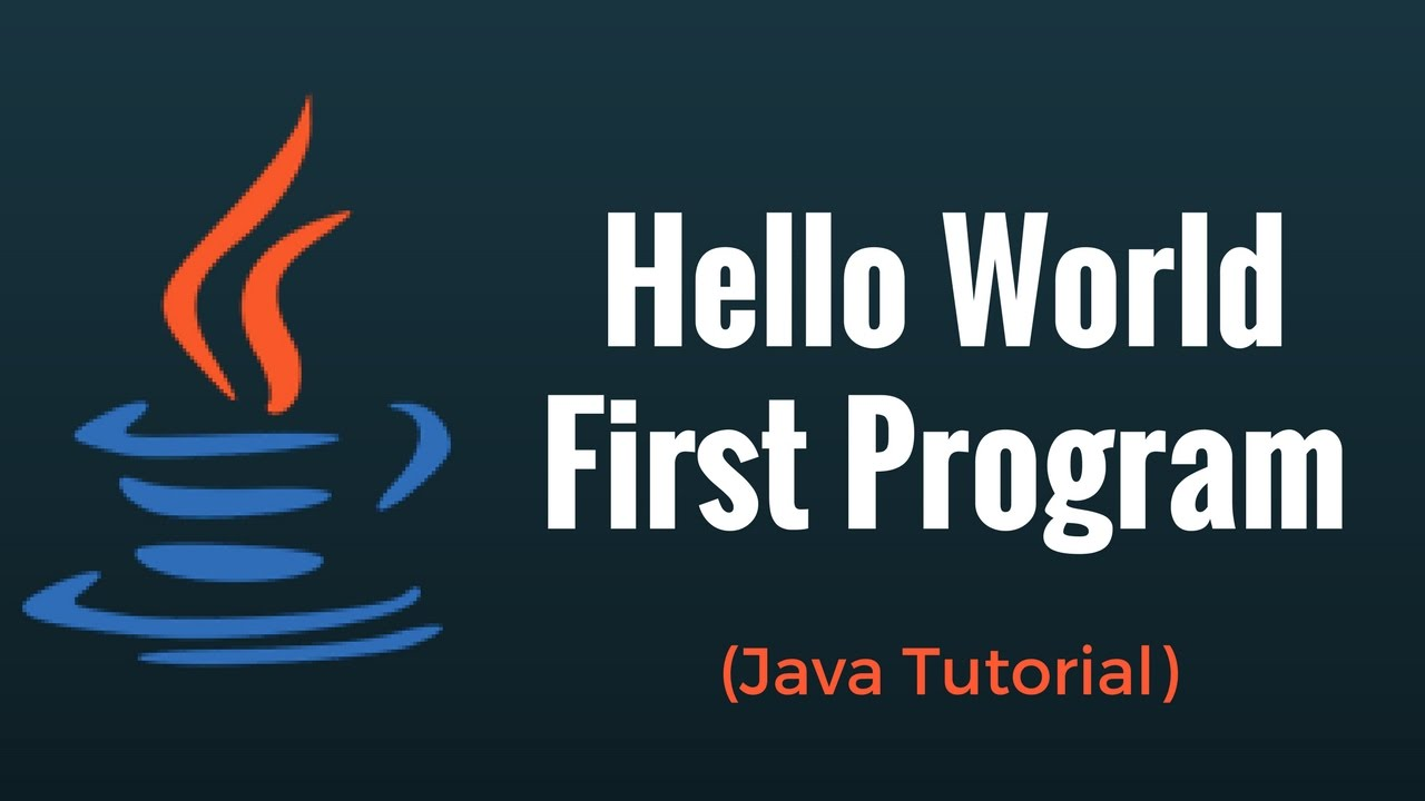 Java program tutorials image collections any tutorial examples java hello world first program java programming tutorial youtube java hello world first program java programming baditri Choice Image