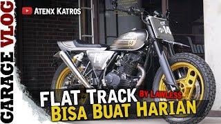 Custom Flat Track By Lawless [Garage Vlog]